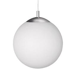 Moderne hanglamp bol wit glas, keuken