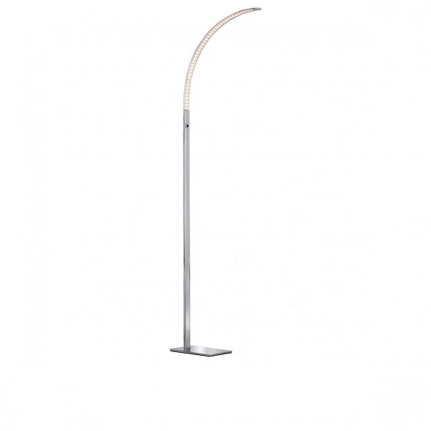 Vloerlamp strak en modern, LED dimbaar