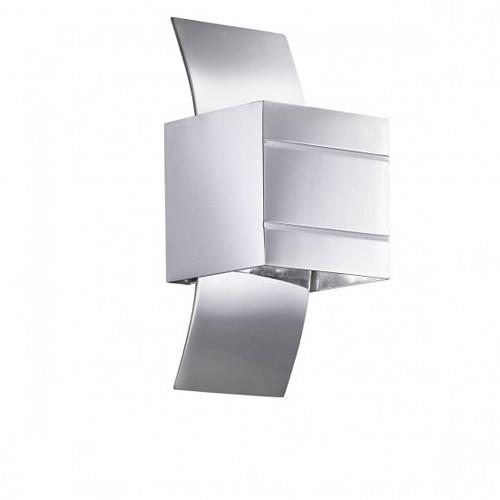 *Wandlamp modern chroom hal-keuken