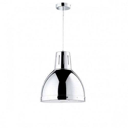 *Hanglamp groot chroom modern