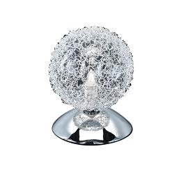Tafellamp chroom bol
