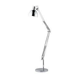 *Vloerlamp / leeslamp chroom