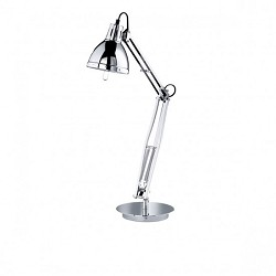 *Tafellamp / burolamp chroom