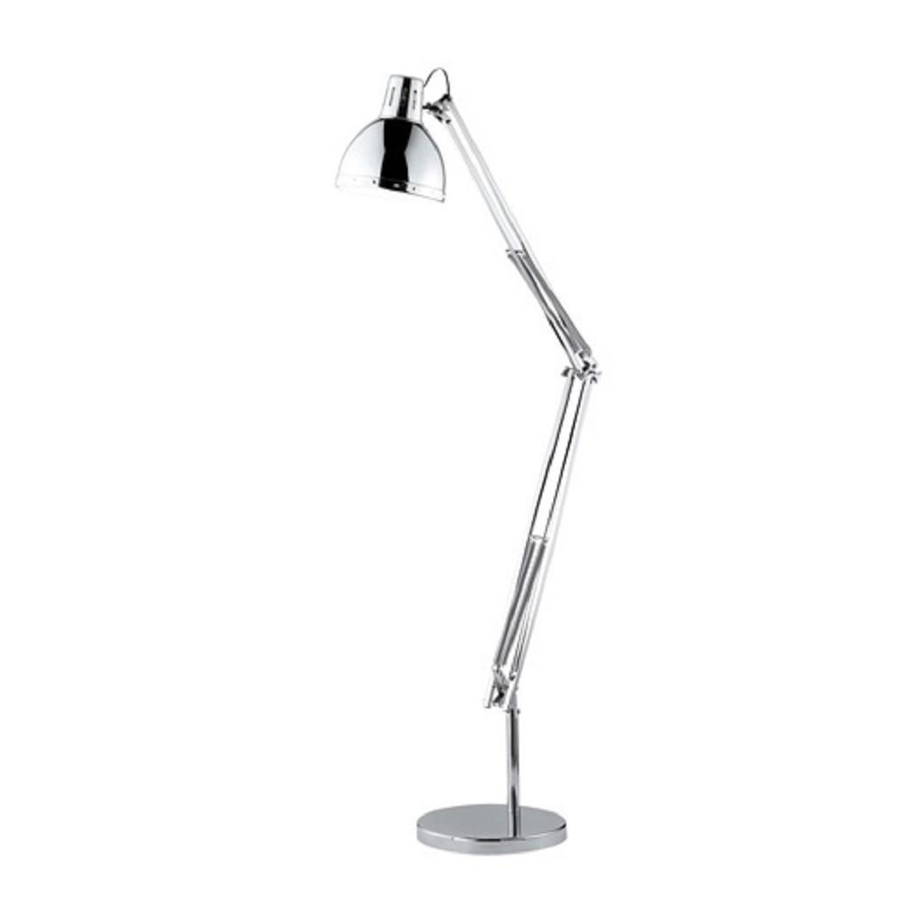 Vloerlamp / leeslamp chroom