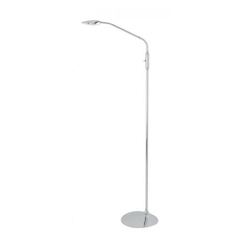 Aanbieding leeslamp LED chroom