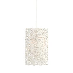 Witte hanglamp Labyrint tienerkamer