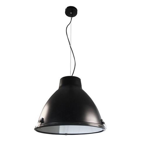 industriele hanglamp zwart eettafel straluma