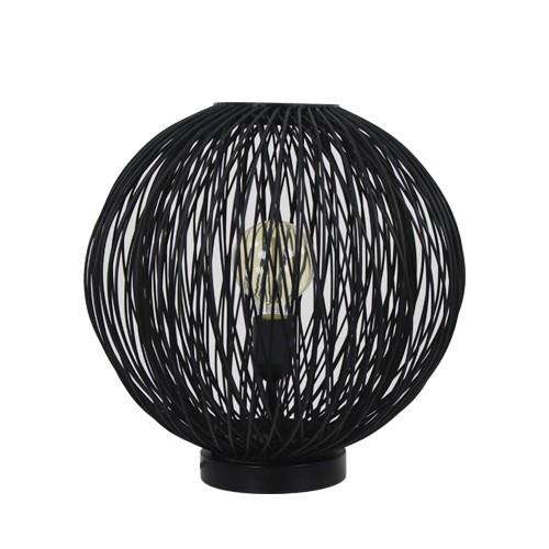 good zwarte tafellamp bamboe rond cm with straluma verlichting barendrecht