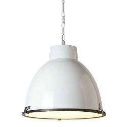 *Hanglamp industrie wit, eettafel-kamer