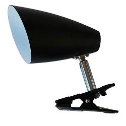 Klemspot zwart verstelbaar leeslamp
