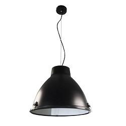 Industriele hanglamp zwart, eettafel