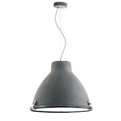 Industriele hanglamp beton, eetkamer