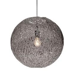 *Abaca hanglamp draad grijs keuken/hal