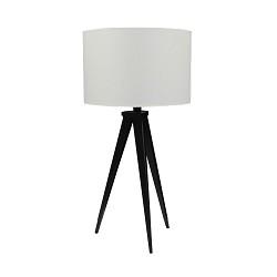 * Moderne tafellamp driepoot zwart