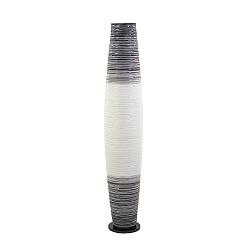 *Moderne vloerlamp cilinder zwart-wit