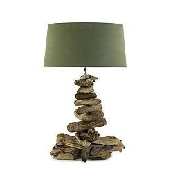 *Grote tafellamp drijfhout excl. kap