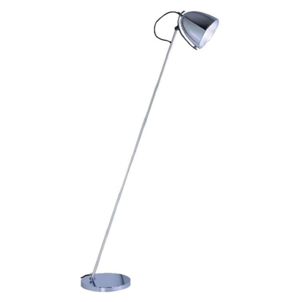 Vloerlamp chroom