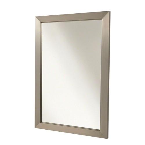 moderne stalen wand spiegel 90 x 60 straluma. Black Bedroom Furniture Sets. Home Design Ideas