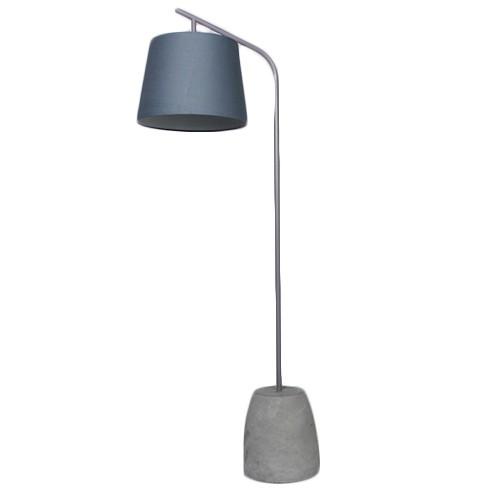 Extreem Staande lamp beton grijs met kap | Straluma @UR19