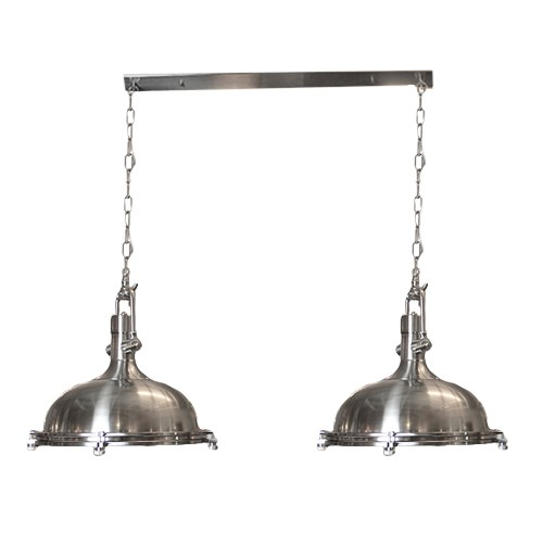 *Industriele hanglamp High Line staal