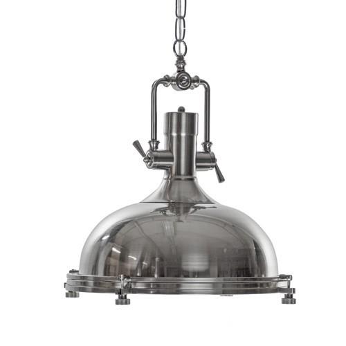 *Industriële hanglamp High Line staal