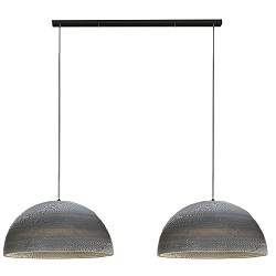 *Trendy Hanglamp karton 2-lichts