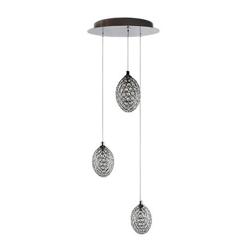 Luxe hanglamp kristal slaapkamer keuken straluma for Slaapkamer hanglamp