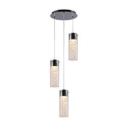 *Verstelbare hanglamp glas salontafel