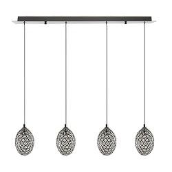 *Aanbieding eettafel hanglamp kristal