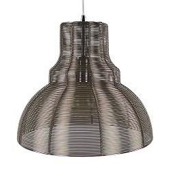 *Industriele hanglamp brons-bruin draad