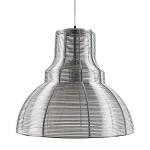 *Industriele hanglamp draad chr-zilver