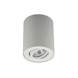 Ronde plafondlamp-spot wit verstelbaar