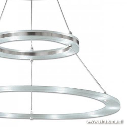 Plafondlamp 2 led ringen direct/indire
