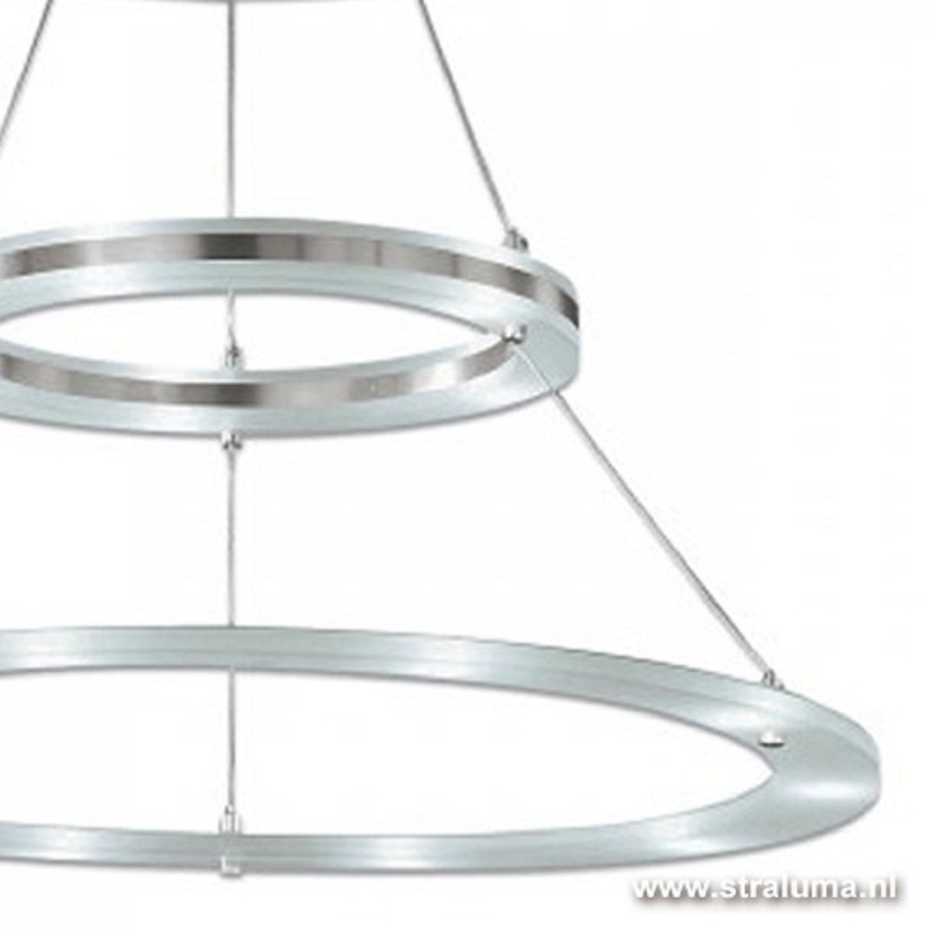Plafondlamp 2 led ringen direct/indire