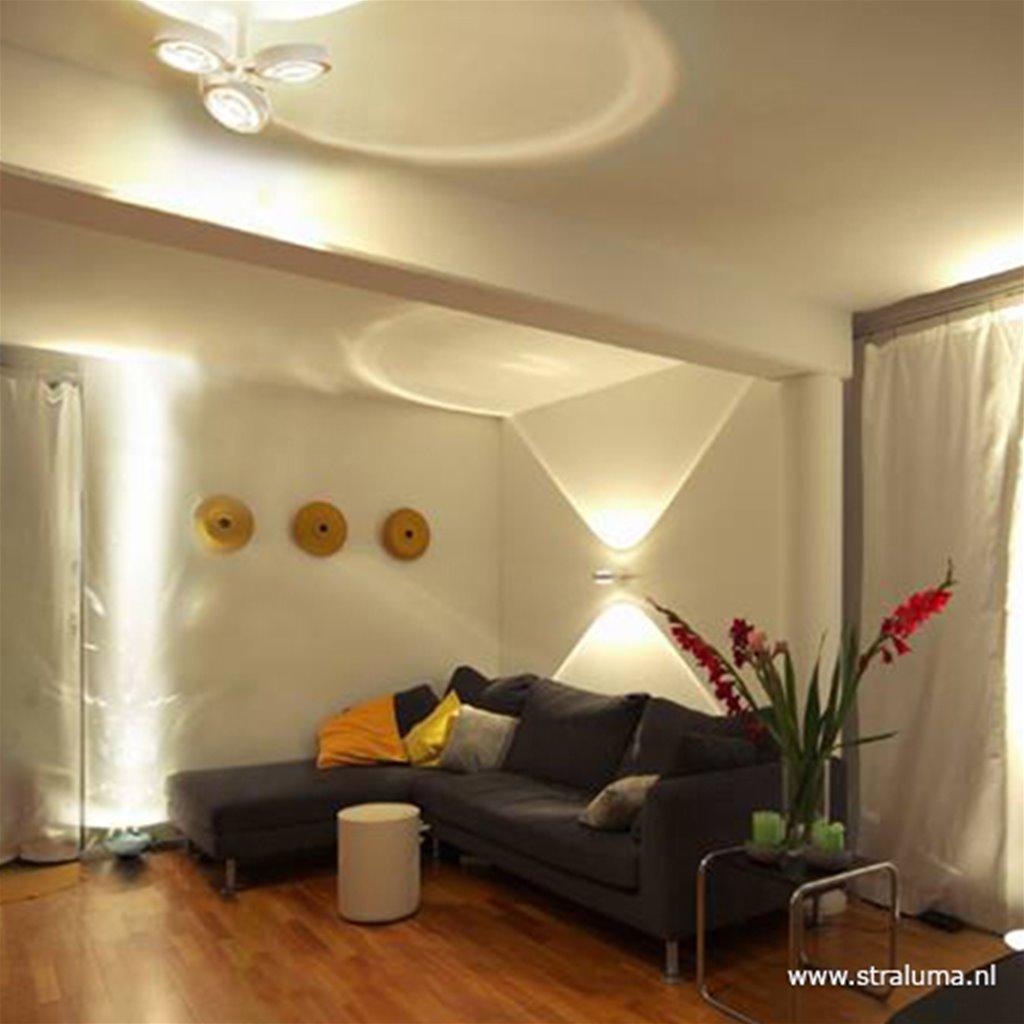 *Luxe 3-lichts plafondlamp aluminium