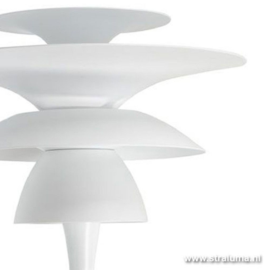 Moderne wandlamp wit