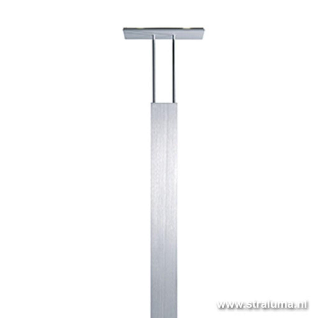 Design lamp staand LED aluminium