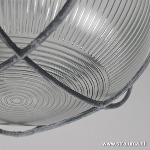 Plafond-/wandlamp Bullseye rond beton