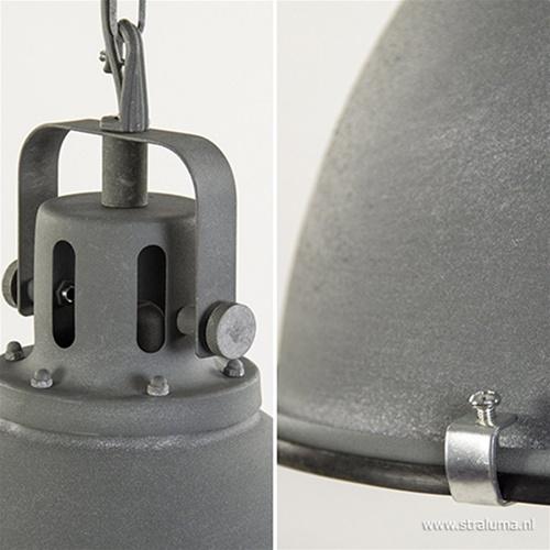 Kleine industriële hanglamp Jesper beton