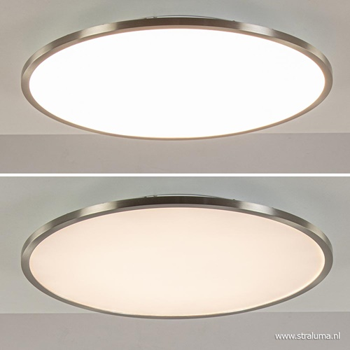 Plafondlamp Ceres nikkel 45cm Easy Dim