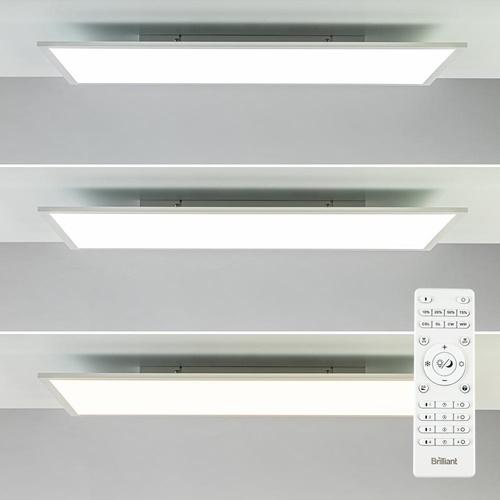 Dimbaar LED paneel wit inclusief afstandsbediening
