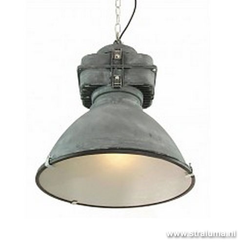 Stoere industri le hanglamp beton look straluma for Lampen industrie