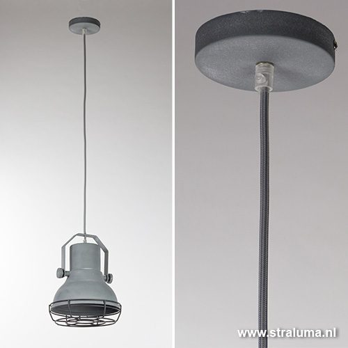 Industriele lamp maken latest industriele lamp emaille for Lamp industrieel