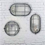 Bullseye wand-plafondlamp betonlook