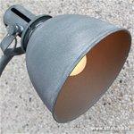 Industriele vloerlamp-leeslamp betonlook