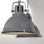 Industriële hanglamp Jesper 2-L beton