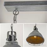 *Eettafelhanglamp beton met grill