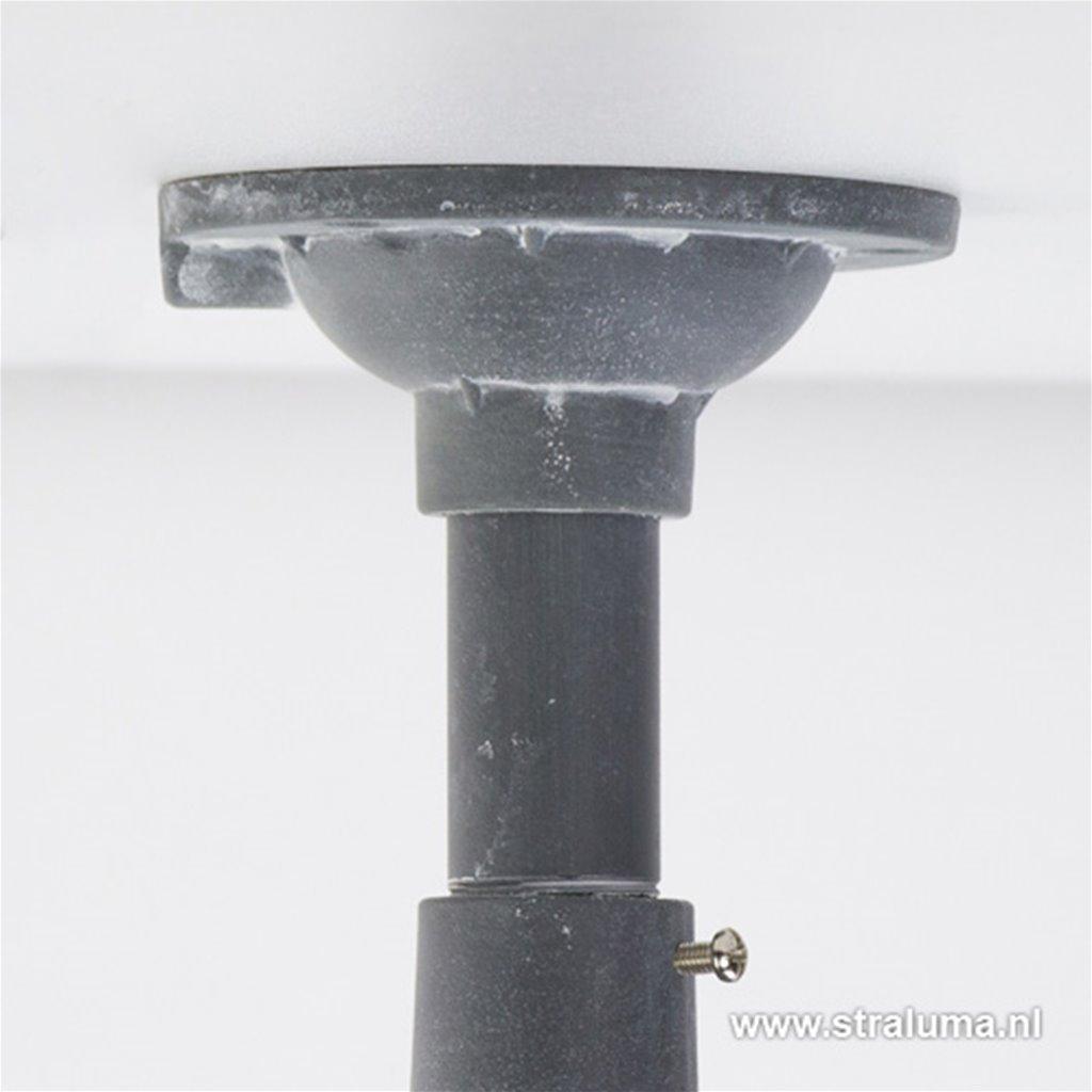 Industrie Kooi- plafondlamp betonlook