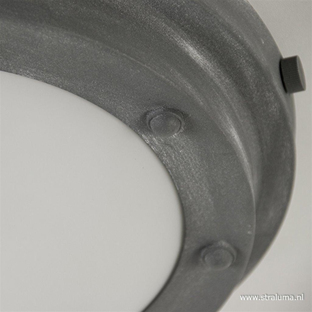 Betonlook plafonnière Blizzard 32,5 cm