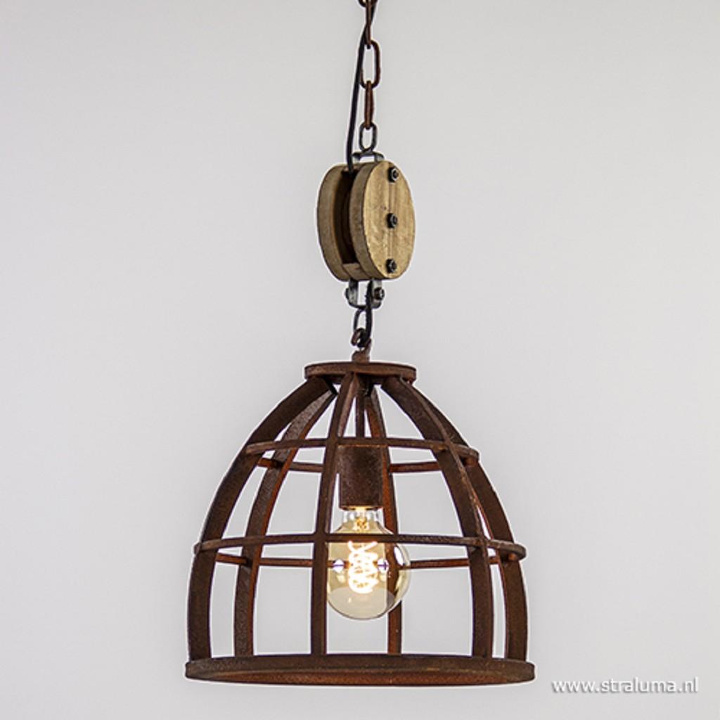 Industriele - landelijke  hanglamp